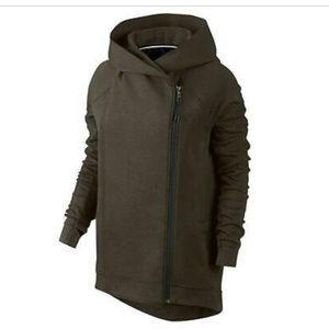 Nike Olive Green Cape Jacket